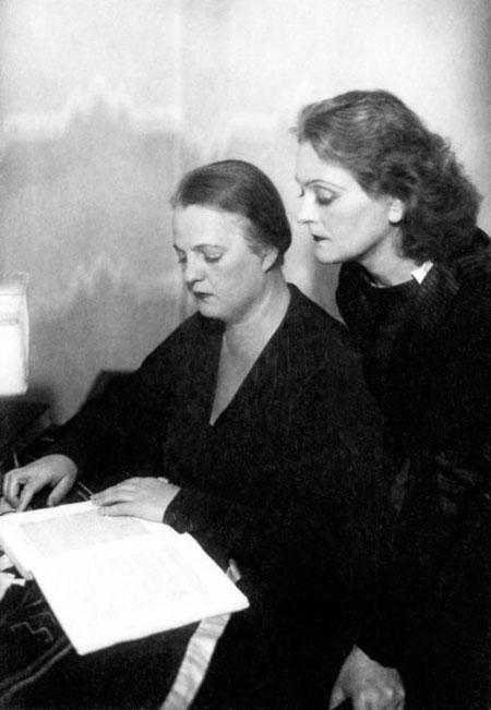 Marija Leiko oraz Austra Ozoliņa-Krauze