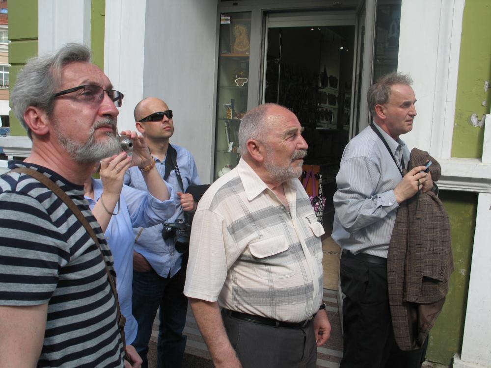 Wycieczka z Wojciechem Piotrowiczem po Wilnie