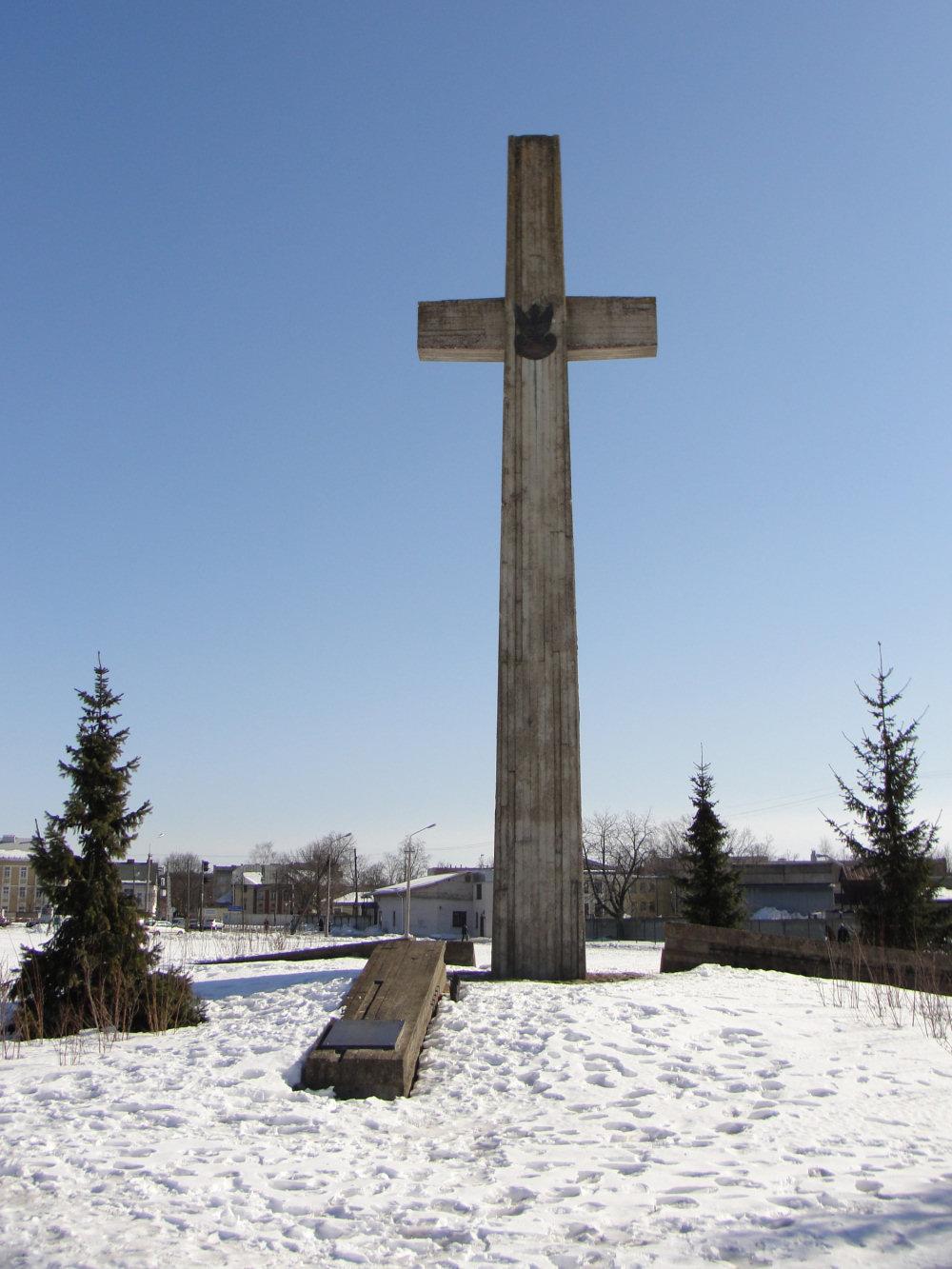 Dyneburg, pomnik polskich żołnierzy poległych w 1920 r.