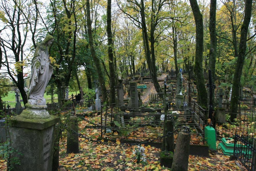 Na starym cmentarzu w Szawlach