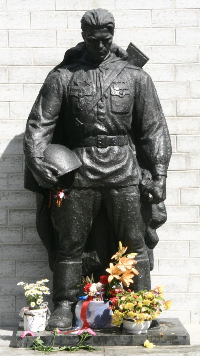 Pomnik Brązowego Żołnierza w Tallinnie. Zdj. Kazimierz Popławski