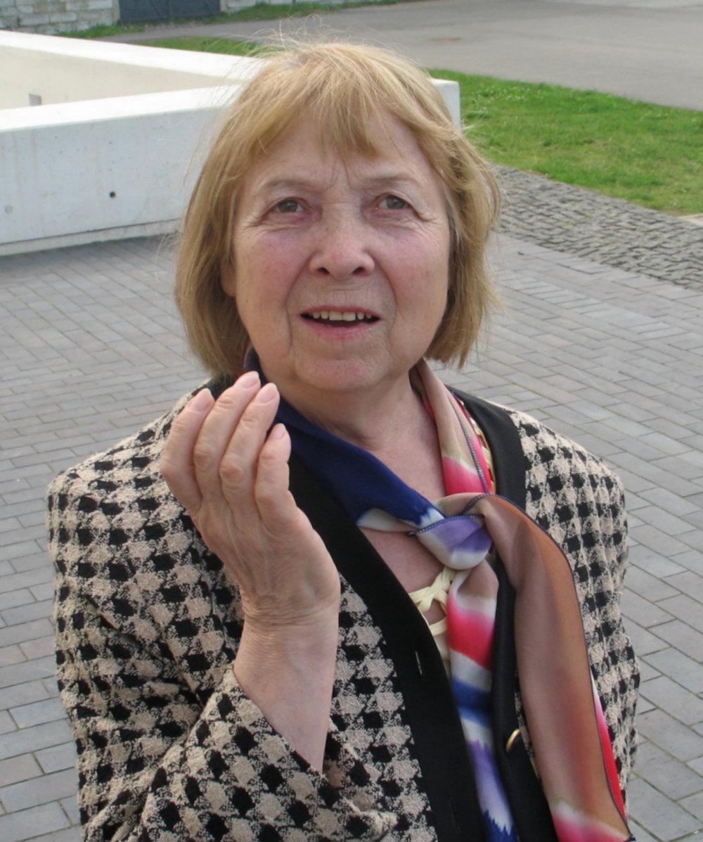 Tamara Barbarina, szefowa towarzystwa szwedzkiego, zdj. Tomasz Otocki