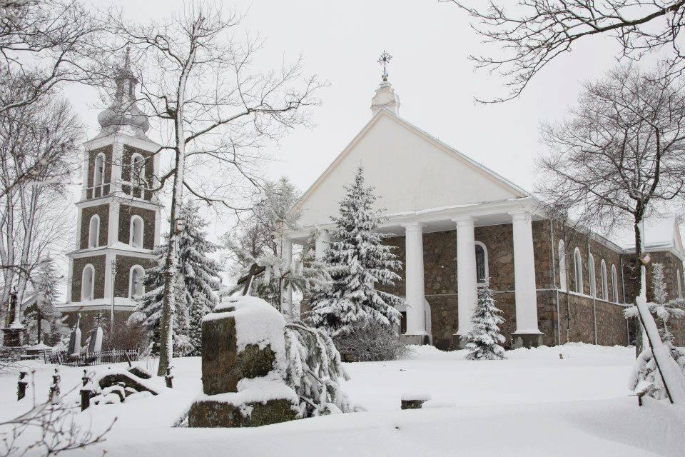 XIX-wieczny kościół w Ejszyszkach. Zdj. Natalija Sevastjoviene