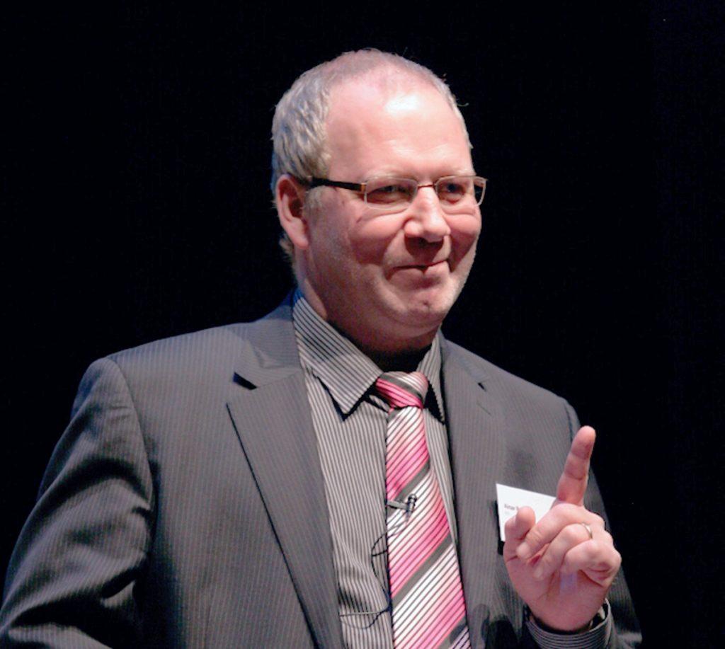 Ainar Ruussaar, członek zarządu ETV, który przewidywał stworzenie telewizji ETV+. Zdjęcie: ERR.