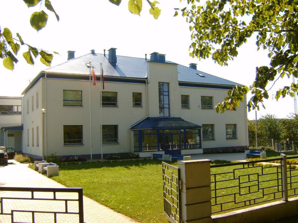 Nowy budynek polskiej szkoły w Krasławiu. Zdj. Mirosław Jankowiak.