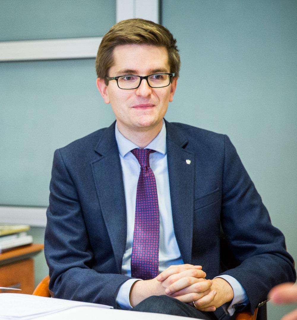 Marcin Łapczyński, zdj. Joanna Bożerodska/zw.lt.