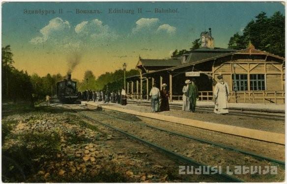 Edinburg II. Zdj. Zudusi Latvija