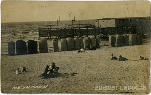 Plaża w Dubulti. Zdj. Zudusi Latvija