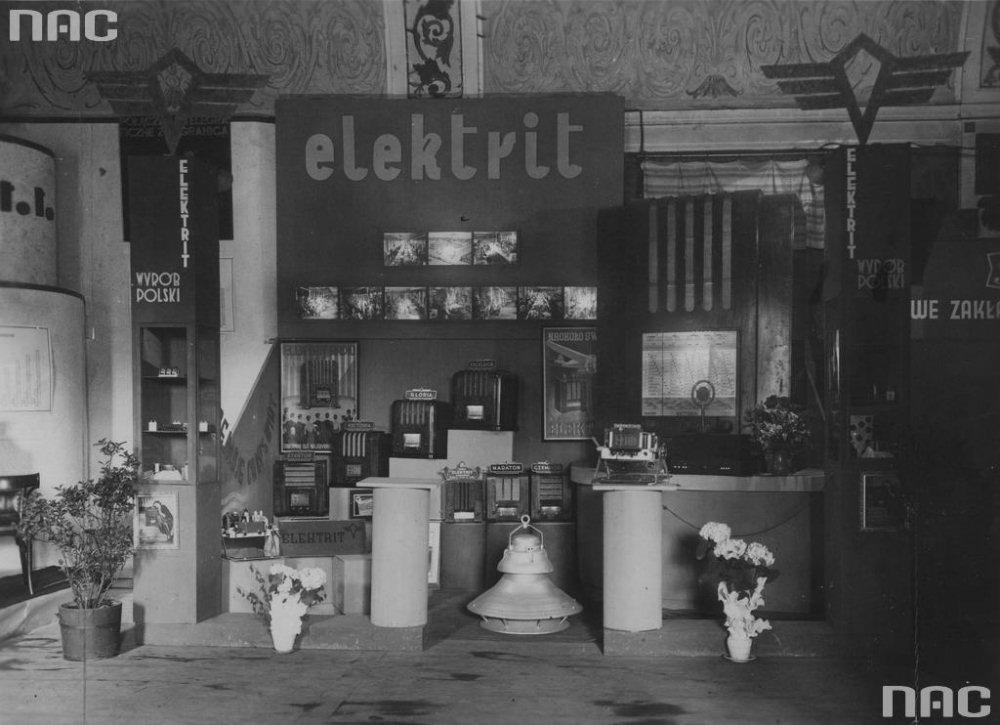 Wileński Elektrit był jednych z najwiekszych producentów radioodbiornków w całej II RP. Zdj. Narodowe Archiwum Cyfrowe