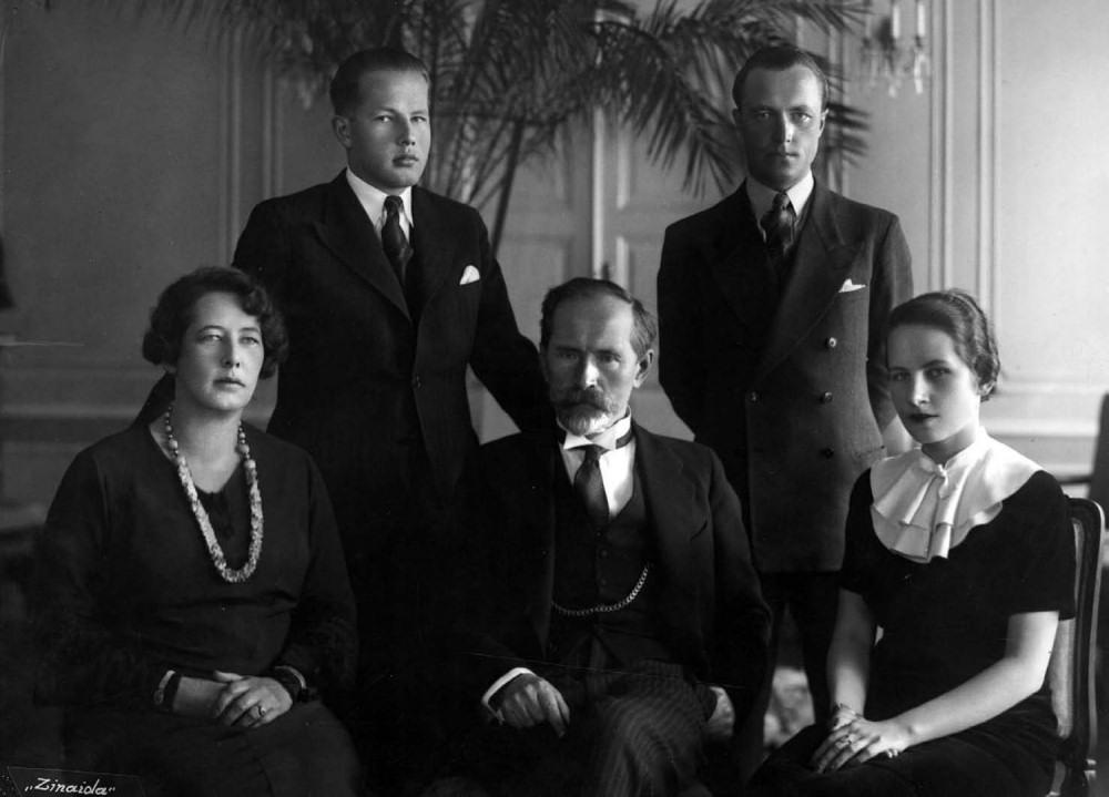 Rodzina Antanasa i Zofii Smetonów