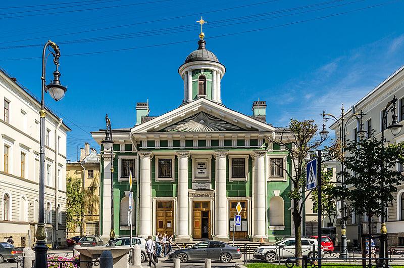 Kościół luterański św. Marii - parafia Finów petersburskich. Zdj. Wikimedia Commons