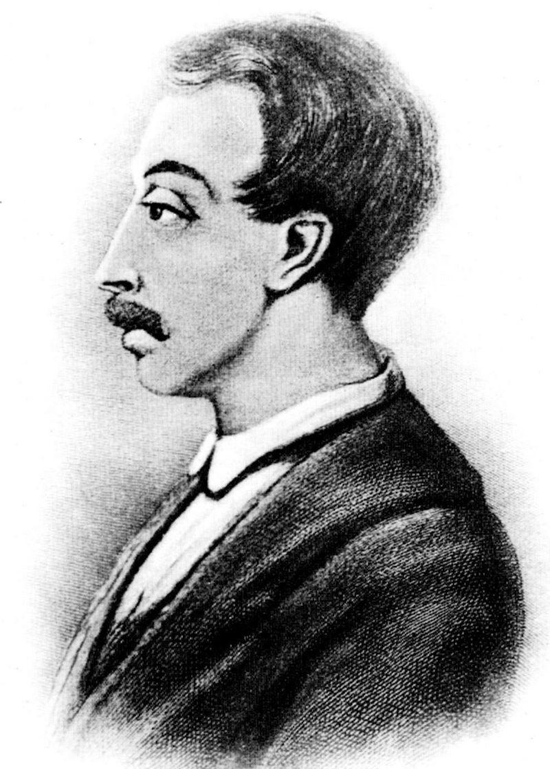 Wilhelm Küchelbecker, poeta i dekabrysta pochodzenia bałtoniemieckiego. Zdj. Wikimedia Commons