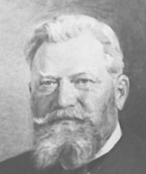 Lars Magnus Ericsson, założyciel zakładów telegraficznych w Petersburgu. Zdj. Archiwum Narodowego Muzeum Nauki i Technologii w Sztokholmie