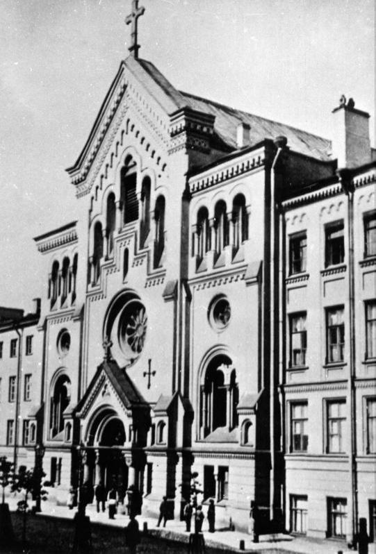 Szwedzki kościół św. Katarzyny w Petersburgu. Zdj. Wikimedia Commons