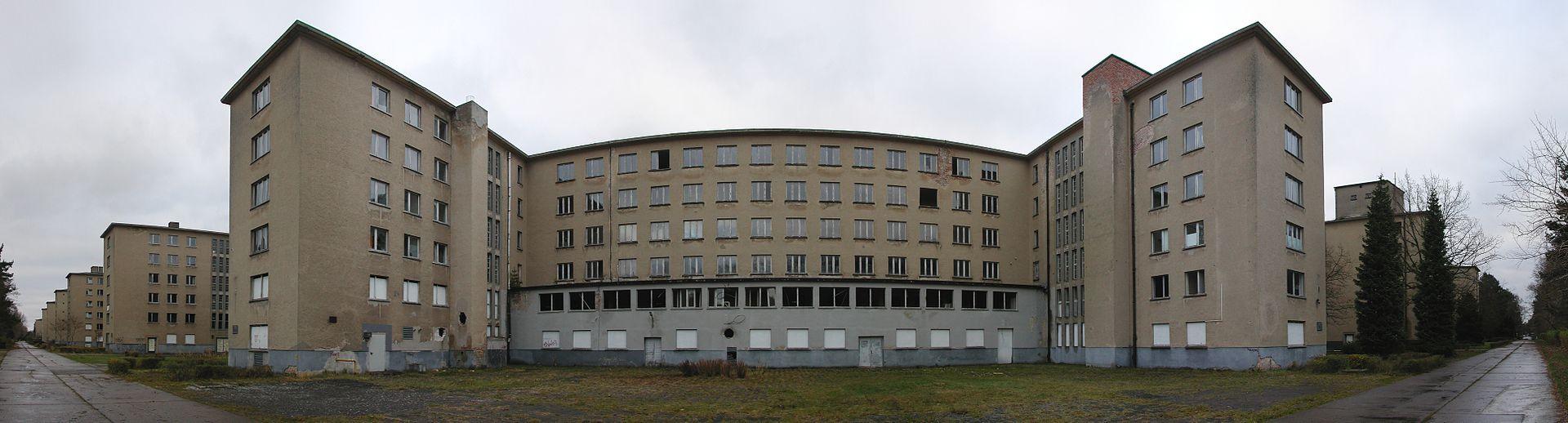 Ośrodek nazistowski w Prora. Zdj. Wikimedia Commons / CC