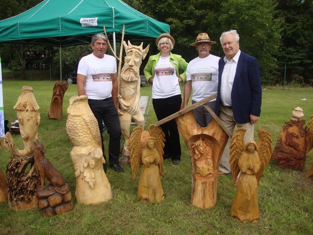 Z drewna można zrobić wszystko... Zdj. Interaktywne Biuro Prasowe VI FKM Sorkwity