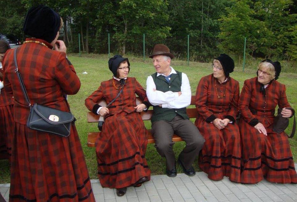 Mazurskie kobiety. Zdj. Interaktywne Biuro Prasowe VI FKM Sorkwity