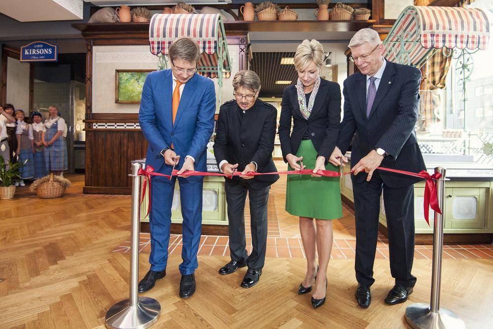 Otwarcie restauracji Kirsons w Berlinie. Zdj. Lido.