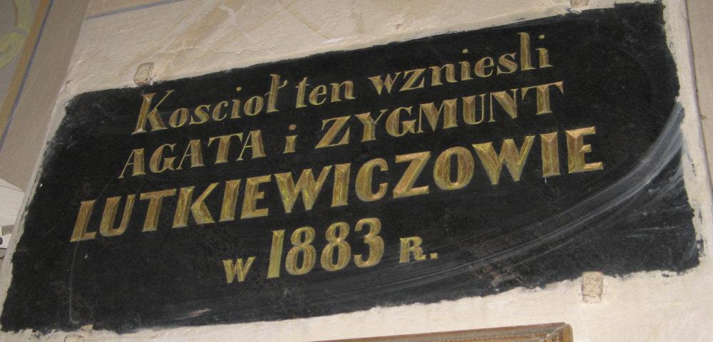 Polskie ślady w kościele w Wodoktach