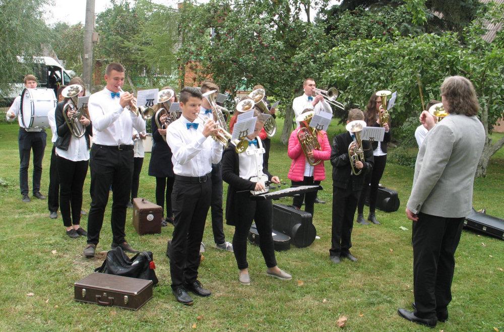 Litewska orkiestra na Laudzie