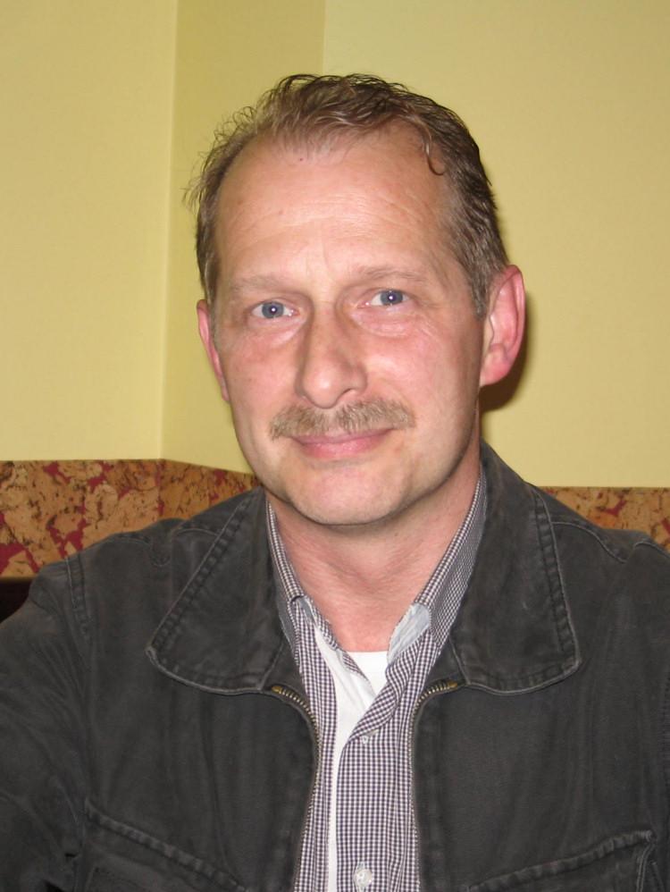 Ryszard Burda, kandydat partii Paksasa. Zdj. Tomasz Otocki