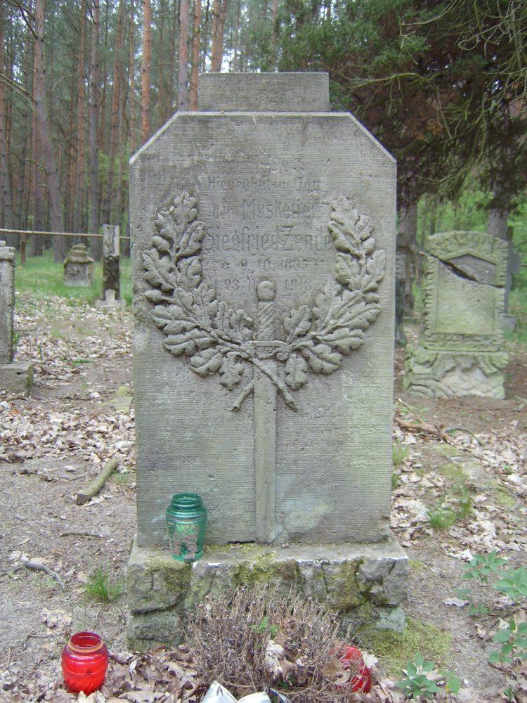 Cmentarz na osiedlu Sławociesze