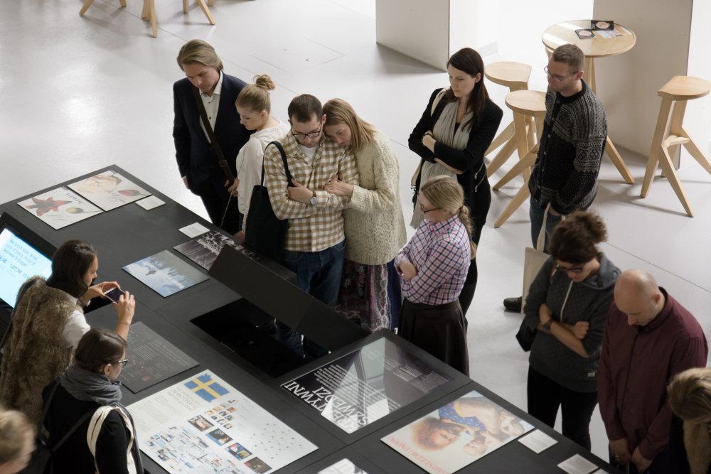 """Wystawa """"Więcej niż reklama, jak to robią Szwedzi"""""""
