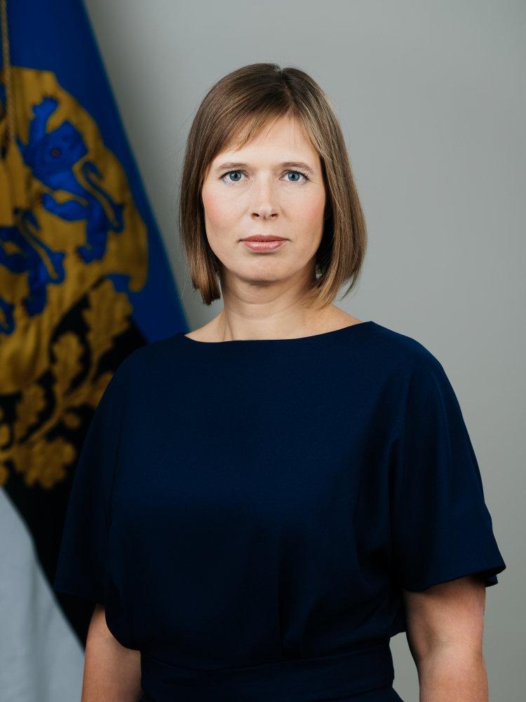 Prezydent Estonii Kersti Kaljulaid. Zdj. Rene Riisalu