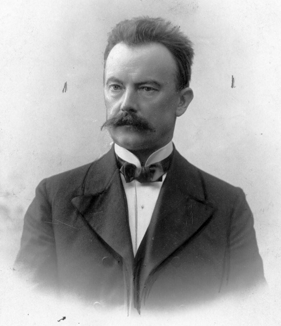 Stanisław Narutowicz. Zdj. Narodowe Archiwum Cyfrowe.