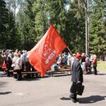 Zwolennicy partii komunistycznej i weterani. Zdj. Mirosław Jankowiak.